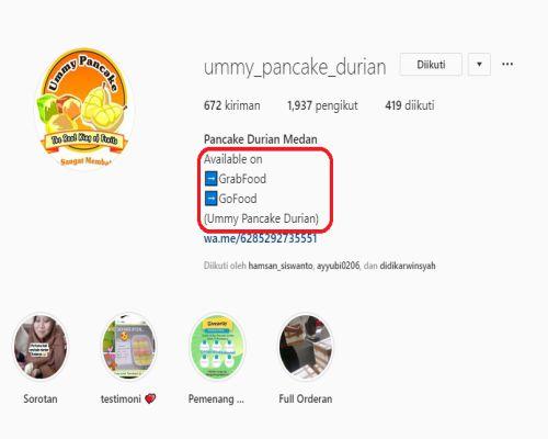 Belajar SEO Instagram bio
