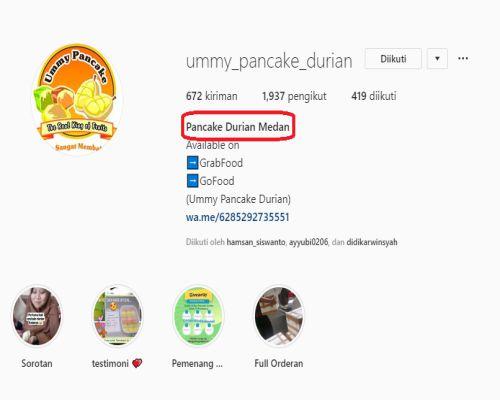 Belajar SEO Instagram nama
