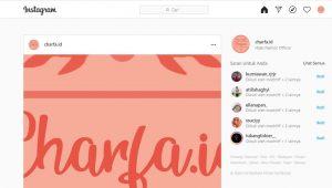 Cara Upload Foto di Instagram Web